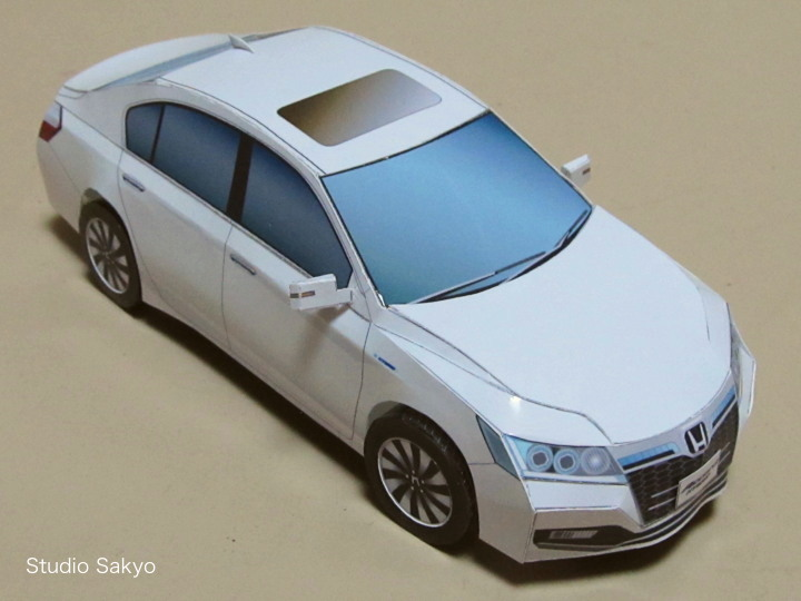 Paper Model Honda Accorrd Hybrid